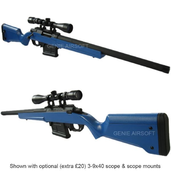 Ares Amoeba Striker AS01 Blue Airsoft Sniper Rifle
